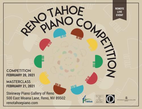 Teklus Sponsoring Reno Tahoe Piano Competition